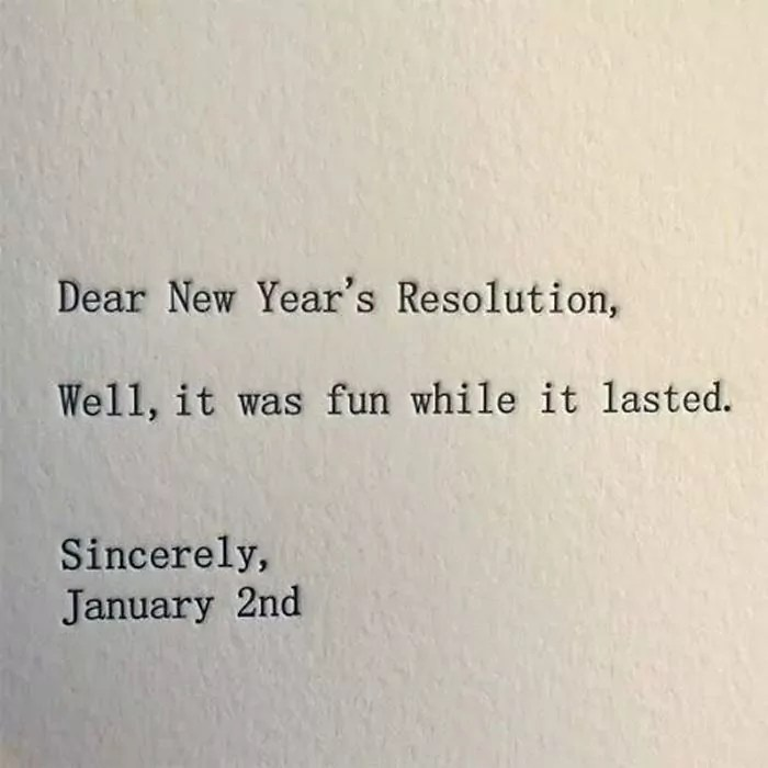 Funny New Year Wishes, Quotes, Pictures and Resolutions - 45 Pics -31