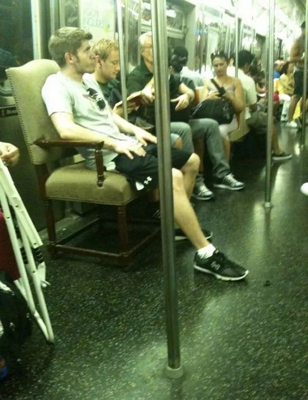 Metro Train Seating Fails Will Blow Your Mind