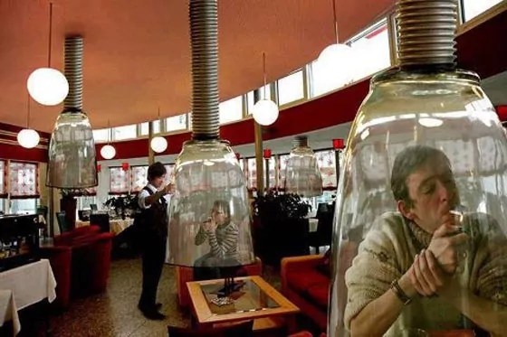 Funniest Smoke Zone Idea For Smokers Is Hilarious