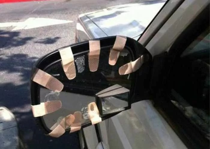 Hilarious DIY Car Fixes That Are Mind Blowing - 35 Pics -03