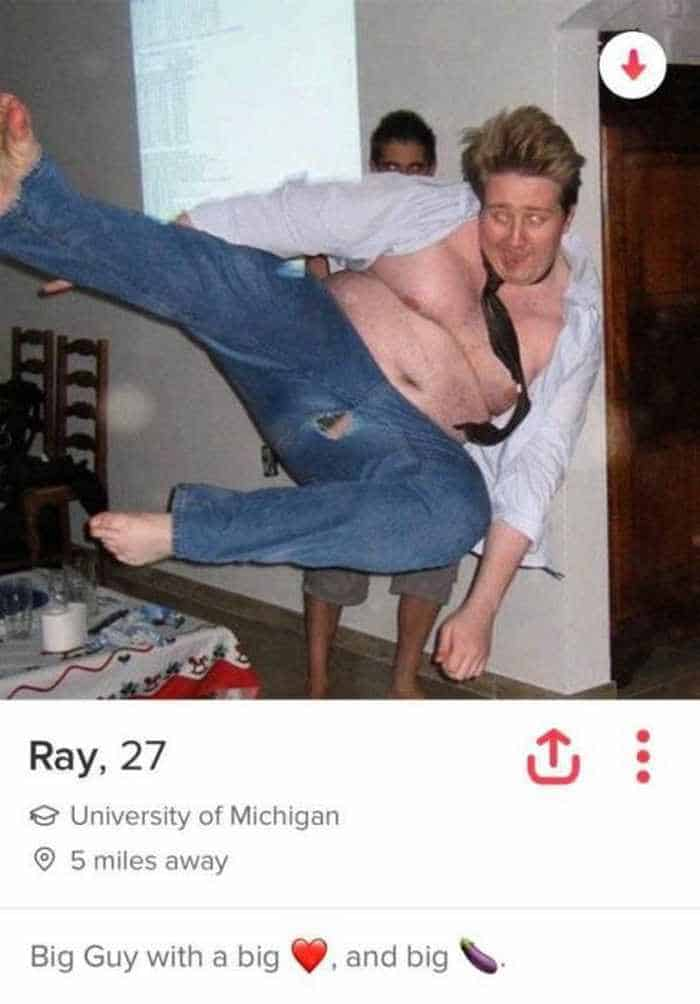 32 Hilarious Profiles Found On Tinder Will Make Your Day -16