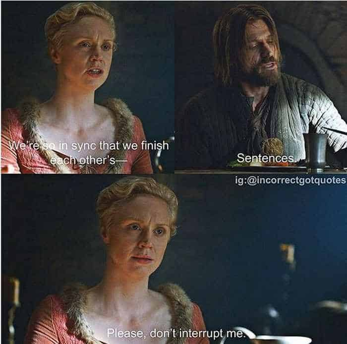 28 Hilarious Incorrect Game of Thrones Quotes Will Make You LOL -12