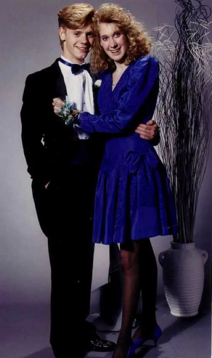 50 Ridiculous 80's Prom Photos That Will Make You Laugh -15