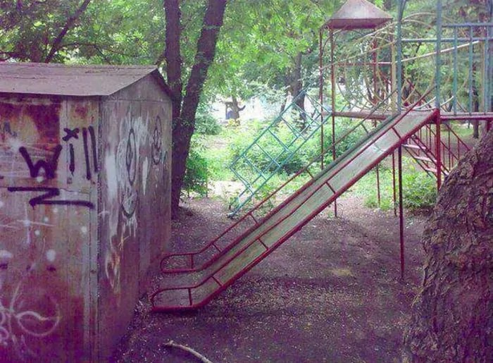 17 Pics of Ridiculous Playground in Russia That Will Make You LOL -17