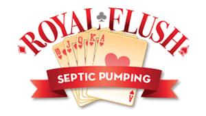 Royal Flush Septic Pumping Logo