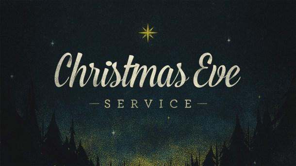 Christmas Eve Service 2018