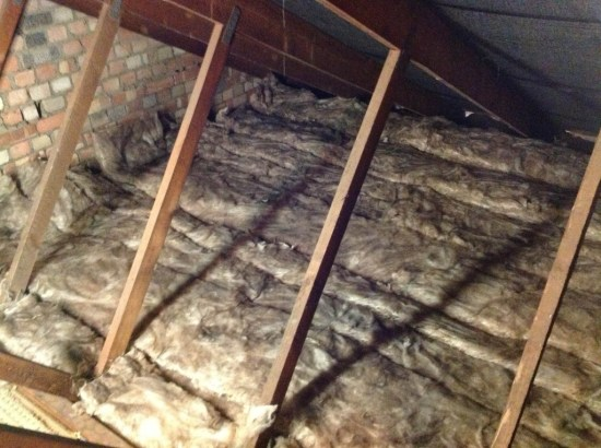 Roof Insulation Removal