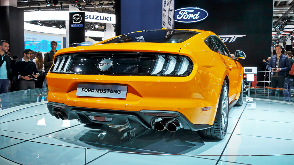 2019 mustang with the ecoboost engine