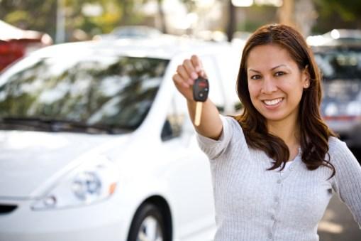 Teenage driver female photo
