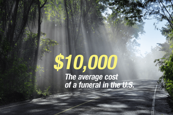 funeral costs graphic 2014