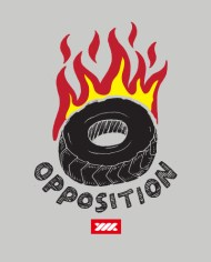 OPPOSITION TEE FRONT