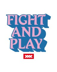 FIGHT N PLAY TEE BACK