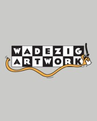 WADEZIG! ARTWORK TEE FRONT