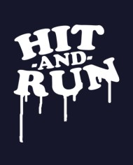 HIT AND RUN RAGLAN FRONT