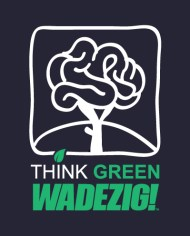 THINK GREEN TEE FRONT