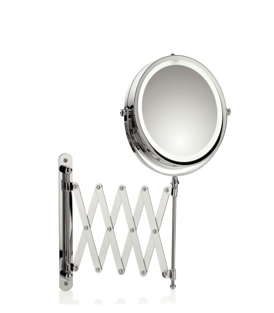 Miroir Grossissant Mural Lumineux Led X5 Rond Valerie