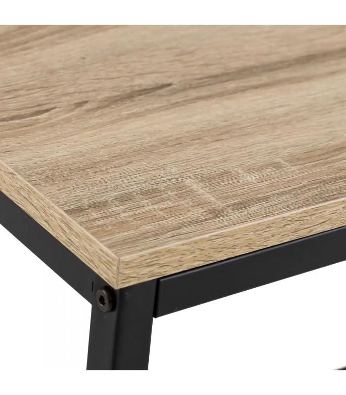 table basse rectangulaire bois mdf et