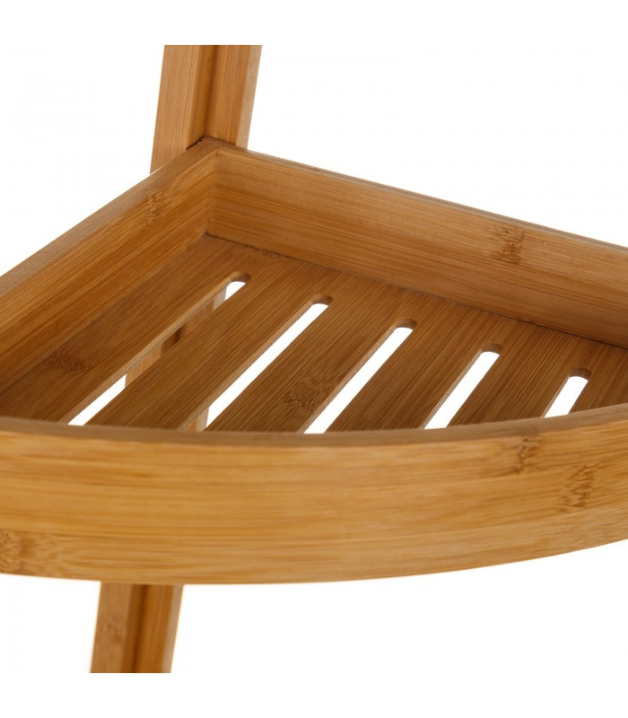 angle pour wc ou salle de bain en bambou