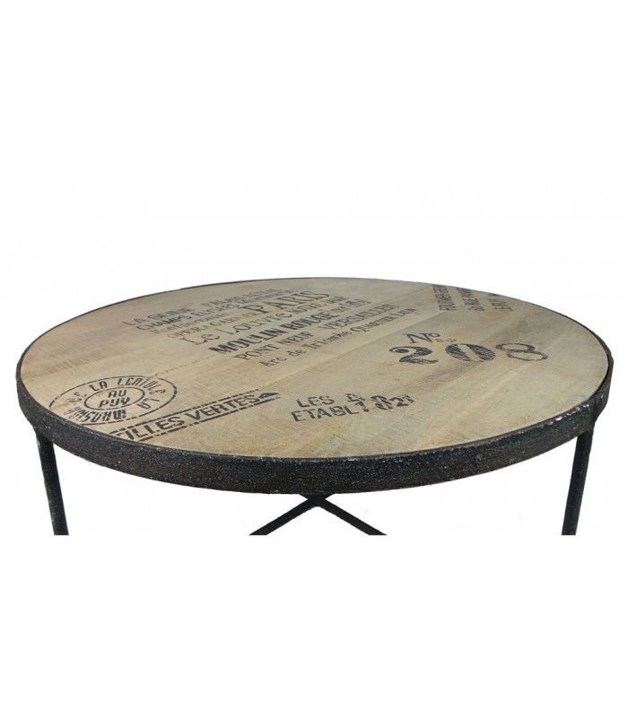 Relooker Table Basse Style Industriel