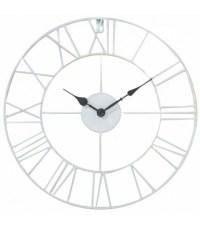Antique White Iron Wall Clock