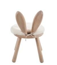 Children's Chair Wood Bunny
