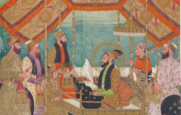 Exhibition of facsimile prints on Mughals Arts Culture and Empire held in Kabul  Wadsam