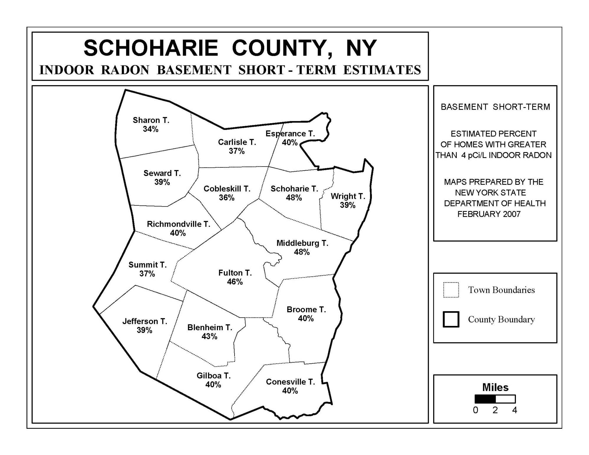 hight resolution of Radon   New York State Department of Health