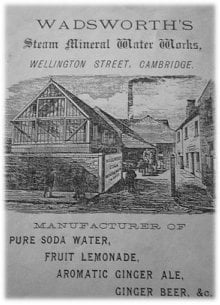 Advertisment for Wellington Street, Cambridge