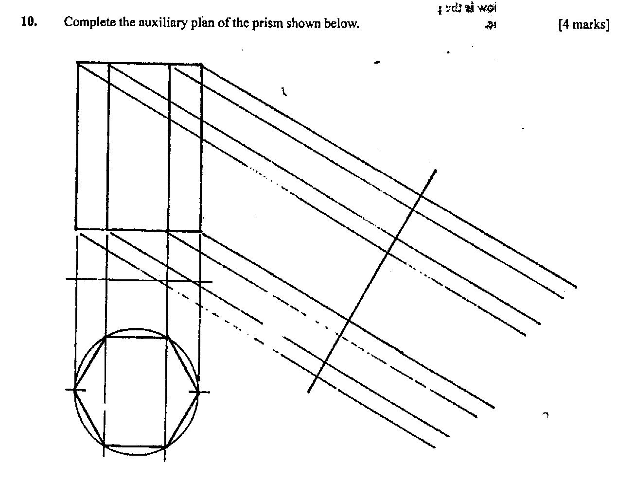 Technical Drawing Paper 2, May/June 2011