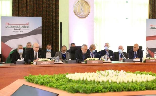 الفصائل الفلسطينية تختتم الحوار الوطني وتؤكد التزامها بالجدول الزمني للانتخابات