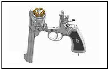 Webley MK VI Revolver 6mm schwarz Vollmetall günstig