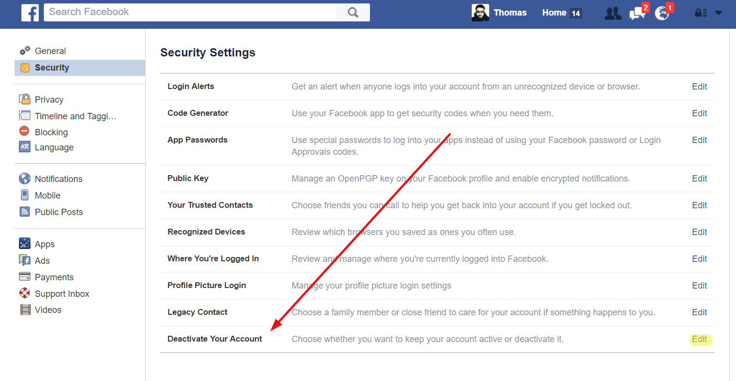 How to Deactivate Facebook Account 2018 & Delete Permanently?