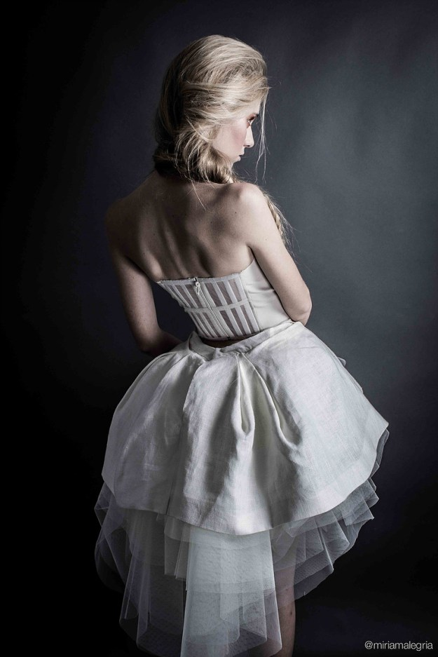 Bridal dress for 'Première', Patrizia B first collection