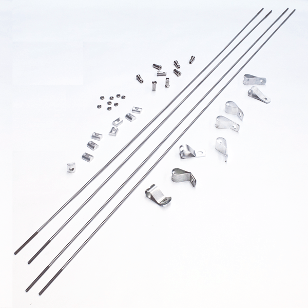 Wag-Aero Taylorcraft Tail Flying Wires, Set of 4, FAA