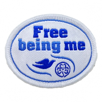 Free Being Me badge (Pack of 10)