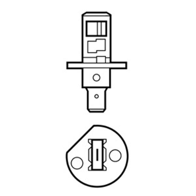 Bulb H1 24V 70W