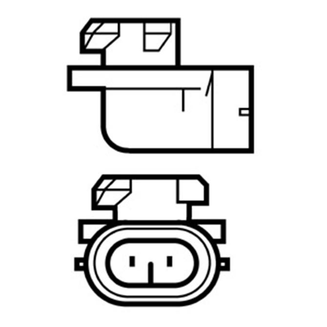 Bulb H27W/2 12V 50W