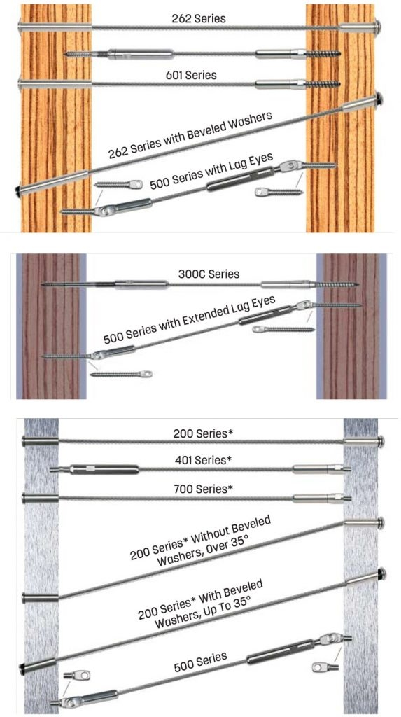Commercial Grade Cable Railing Kits For Your Diy Project | Diy Interior Cable Railing | Front Step | 42 Inch | Modern | Wire | Low Cost