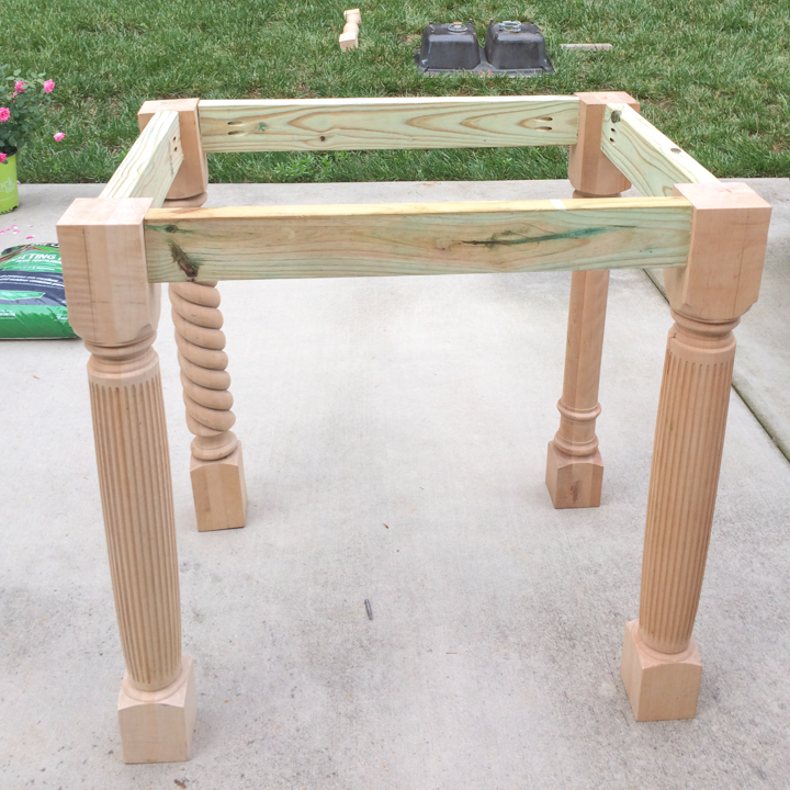 makeover an outdoor utility sink