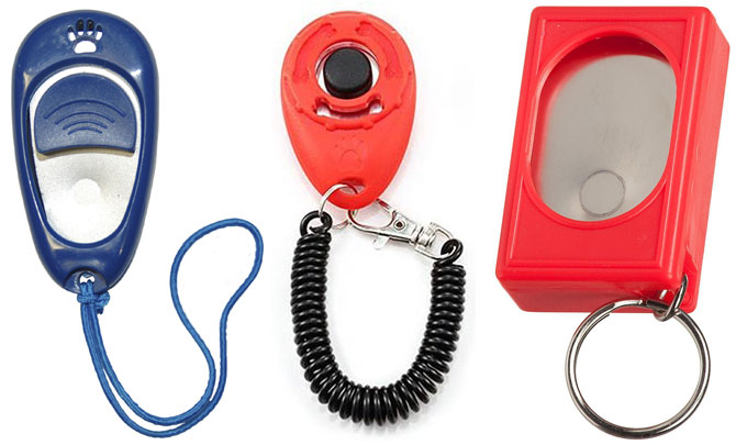 Clickers for pet training