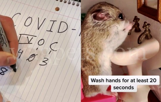 COVID-19: Wash hands for at least 20 seconds