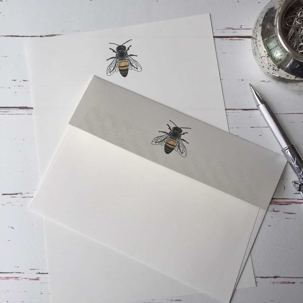 Bee Writing Paper Bees Theme Units Page 1 02 09