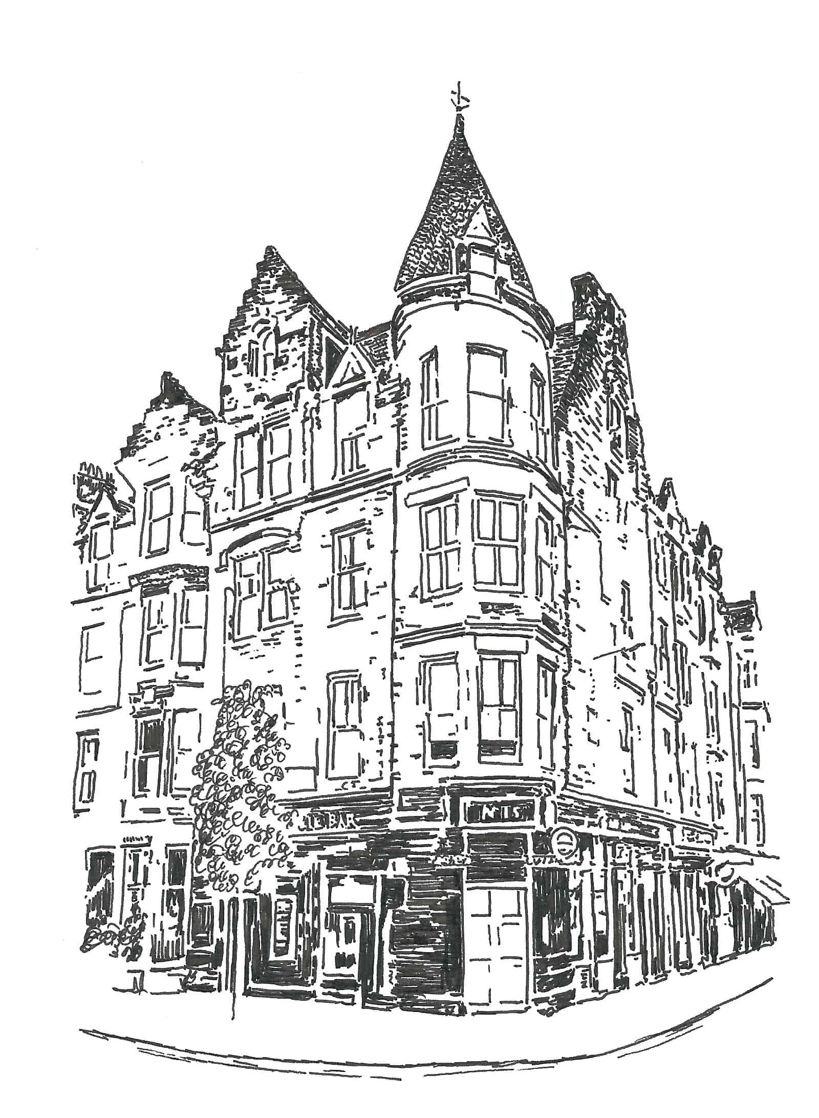 Personalised House Illustration