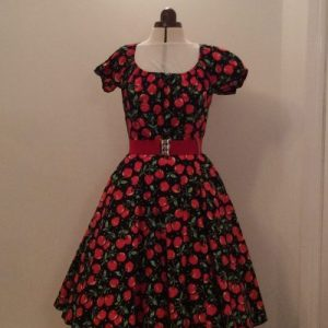 Red Cherries Dreamline Dress