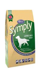 symply lamb and rice dog food