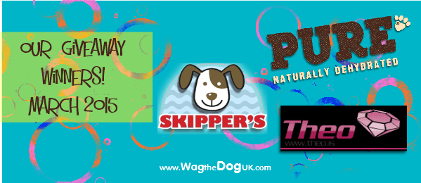our wag the dog uk giveaway winners