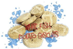 fish treat biscuits for dogs