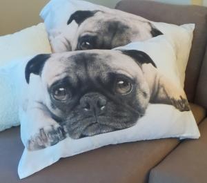 pug lover pillow gift