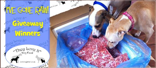 They love dog food winners uk