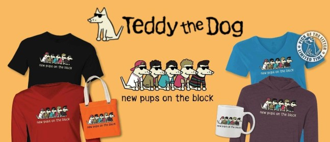 teddy the dog cover